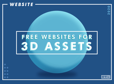 10 Great Website for FREE 3D Models for your Games in 2020