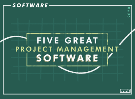 5 Great Project Management Software in 2020