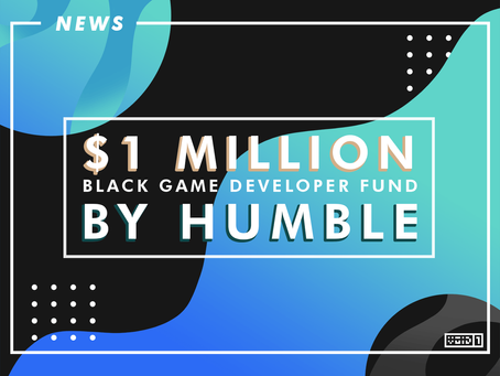 Humble Announces Black Game Developer Fund worth $1 Million