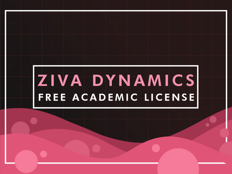ZIVA Dynamics Announces Free Academic License