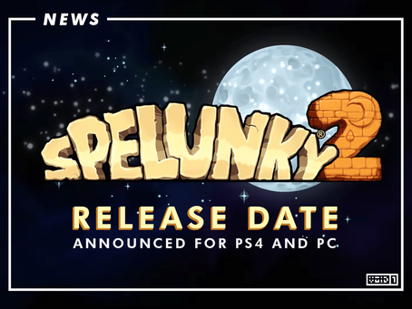 Spelunky 2 Gets a Release Date