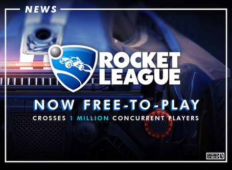 Rocket League now Free-to-Play, Reaches 1 Million Concurrent Players