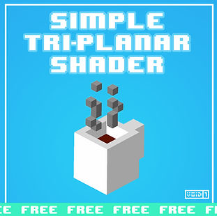 Free Simple Tri-Planar Shader for Unity