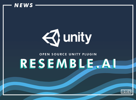 Resemble.AI now supports Unity with Open Source Plugin