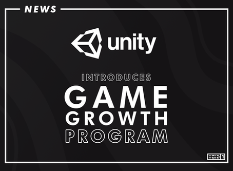 Unity introduces Game Growth program