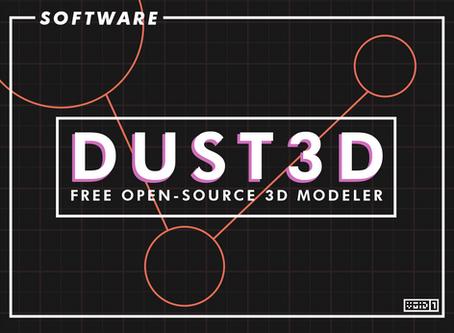 Dust3D Free Open Source 3D Modeler