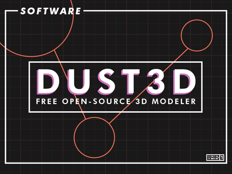 Dust3D Free Open Source 3D Modeler