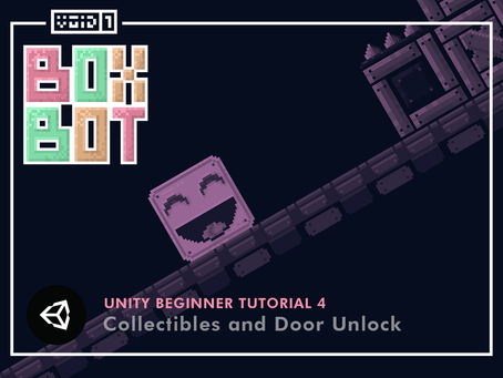 Box Bot - Unity Tutorial 4