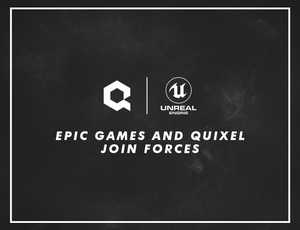 Quixel has joined the Epic games family. | Free for Unreal Engine!!