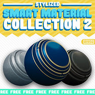 Stylized Smart Material Collection 2 Squ
