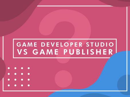 Game Developer Studio vs. Game Publisher: Whom to Choose?