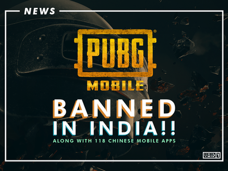 India Bans 118 Chinese Mobile Apps including PUBG