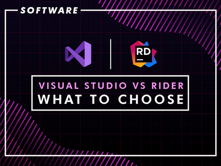 Visual Studio vs. Rider