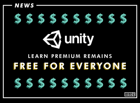 Unity Learn Premium Remains Free for Everyone