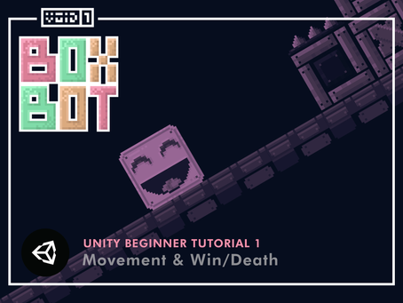 Box Bot - Unity Tutorial 1