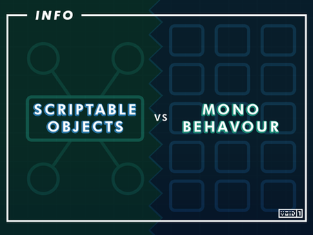 Scriptable Objects vs Monobehaviour: A Quick Overlook
