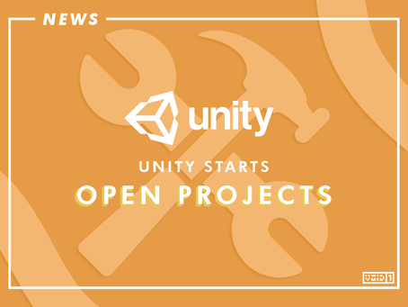 Unity starts Open Projects: A new Open Source Game Dev Journey