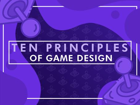 10 Basic Principles of Game Design