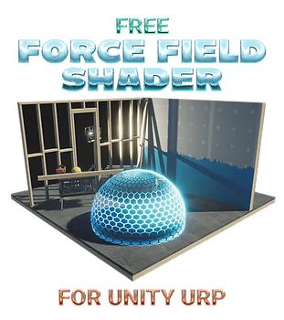 Free Force Field Shader for Unity URP Pa