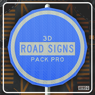 3D Road Signs Pack PRO Square.png