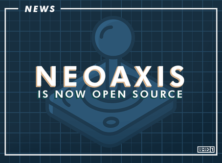 NeoAxis Switched over to Open Source License