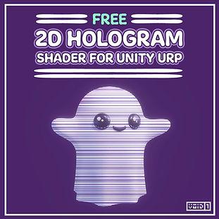 Free 2D Hologram Shader for Unity URP Square.jpg