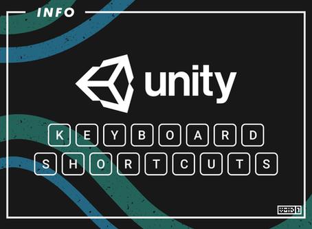 Unity Keyboard Shortcuts
