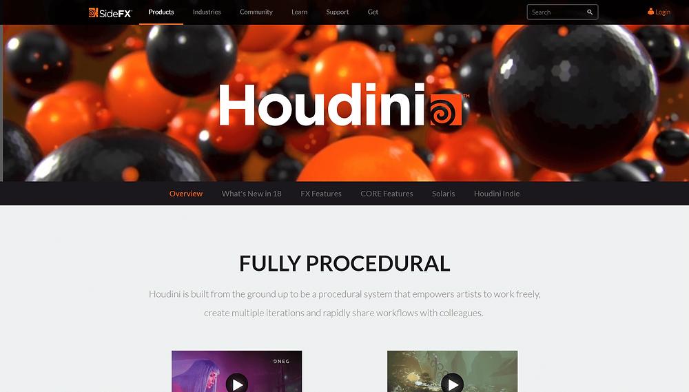 SideFX Houdini