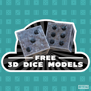 Free 3D Dice Models Pack Square.png