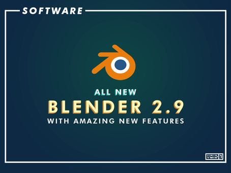 Blender 2.9 is now Released