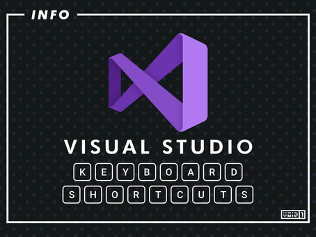 Visual Studio Keyboard Shortcuts