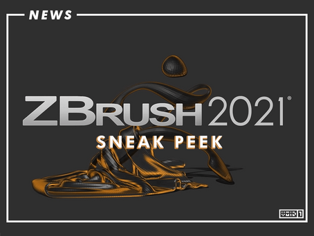 Sneak Preview for ZBrush 2021 Released