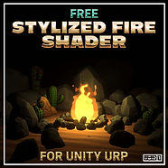 Free Stylized Fire Shader for Unity URP Square.jpg