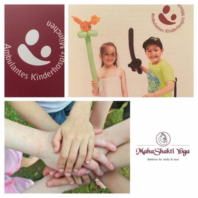 Charity Yoga Stunde für das AKM