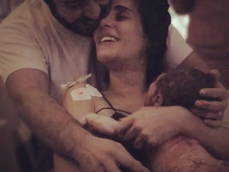 """Relato de parto: """"Eu pari, eu vivi o sonho de parir"""""""