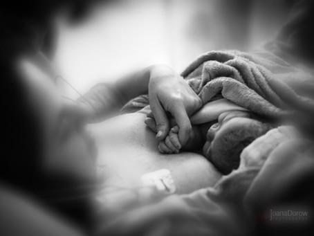 Relato de parto: 'pari após uma cesárea e com analgesia'