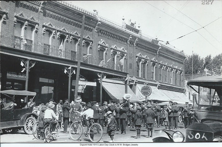 Dupont Hotel 1915 Labor Day