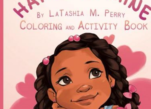 Hair Like Mine - Coloring and Activity Book