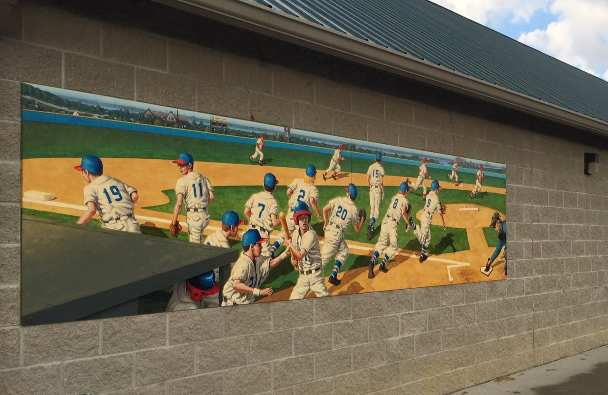 Little League Park Mural