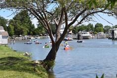 Kayaking in St. Clair Boat Harbor