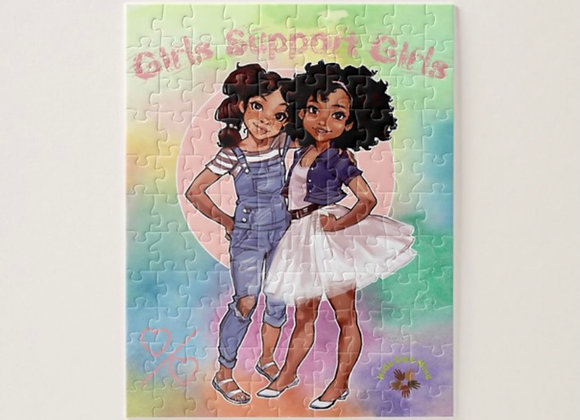 Girls Support Girls Puzzle