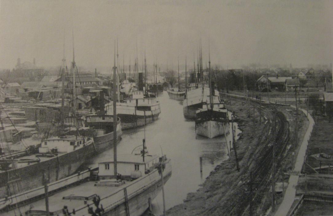 Belle River, 1900