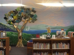 St. Clair Library Children's Room Mural