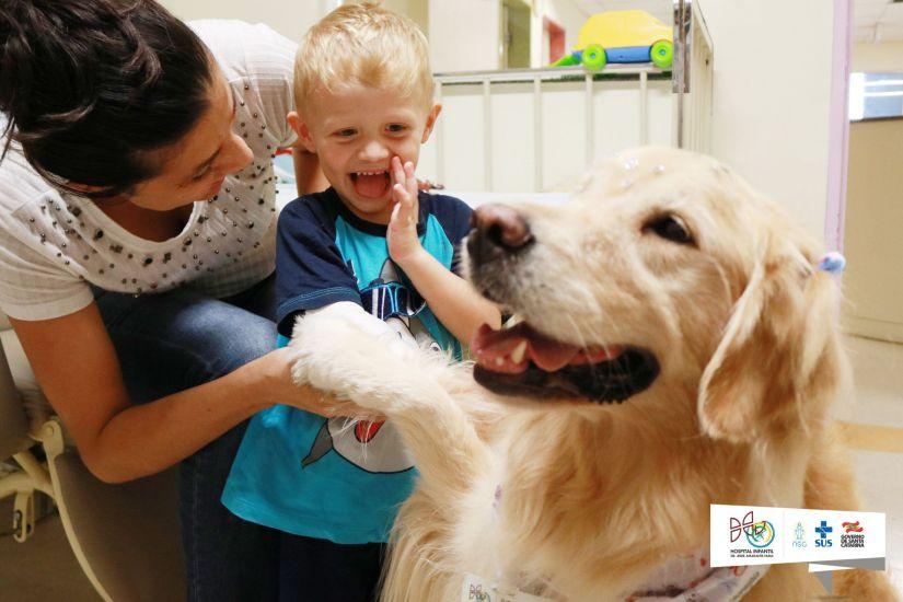 Tosca. Fonte: Blog do Hospital Infantil.