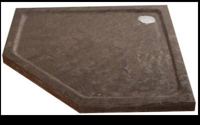 Natuursteen Vijfhoek Douchebak
