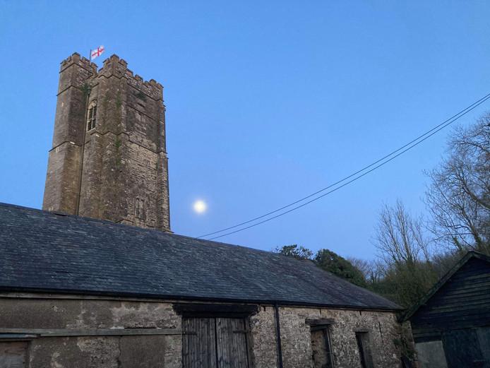 Barton farm moon night church tower gary pizza .jpg