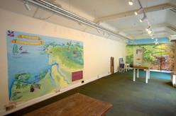 Murals interior heddon Valley Elizabeth