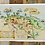 Thumbnail: 10 x Discover Exmoor map - tea towel with belly band