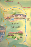Doone country national trust mural map E