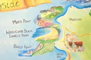 National Trust map morte woolacombe Eliz